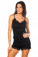 1050-carryl Noir - Ensemble caraco / short, image n° 1
