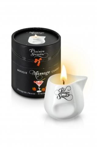 Bougie massage daikiri fraise 80 - Massage & gels stimulants