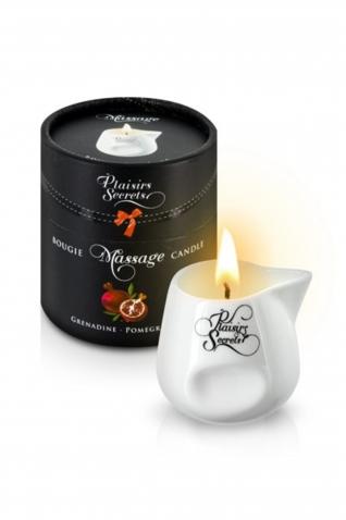 Bougie massage grenadine 80ml - Massage & gels stimulants