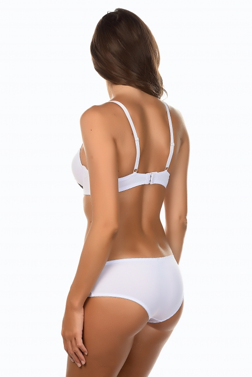 Galine Blanc - Ensemble soutien-gorge / shorty