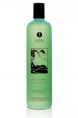 Gel bain/douche 500ml menthe - Massage & gels stimulants