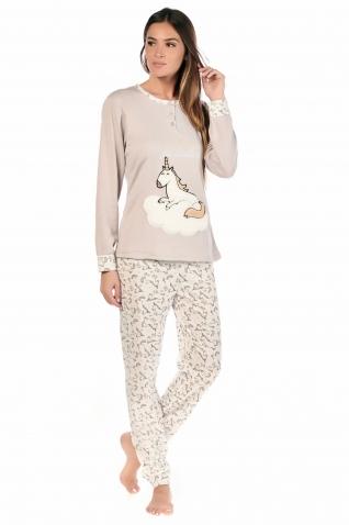 Licorne Gris - Ensembles pyjama