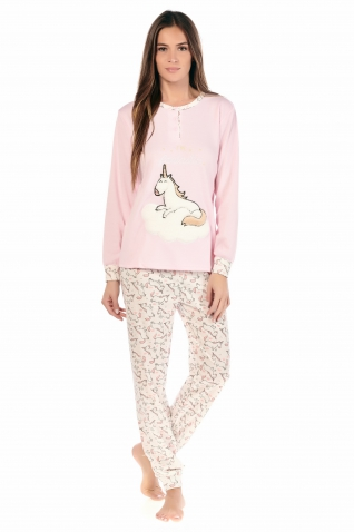 Licorne Rose - Ensembles pyjama