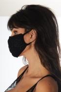 Lot de 3 masques Noir / Bordeaux / Marine - Accessoire, image n° 6
