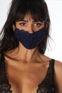 Lot de 3 masques Noir / Bordeaux / Marine - Accessoire, image n° 7