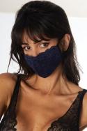 Lot de 3 masques Noir / Bordeaux / Marine - Accessoire, image n° 2