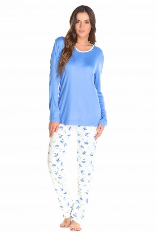 nuit hi style charnelle papillon couleur bleu taille m l xl xxl xxxl mademoiselle. Black Bedroom Furniture Sets. Home Design Ideas