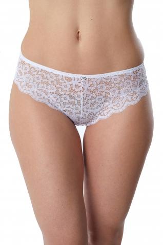 7019-platine Blanc - Culotte