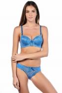 Bajy Bleu - Ensemble soutien-gorge / culotte, image n° 1