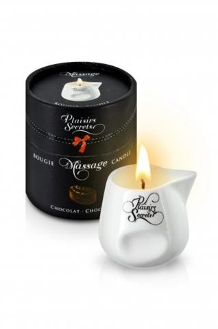 Bougie massage chocolat 80ml - Massage & gels stimulants