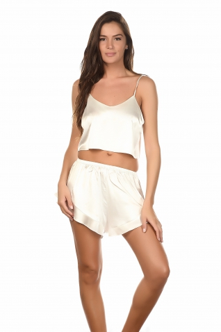 Caray Blanc - Ensembles caraco / short