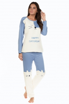 Caturday Bleu - Nuit