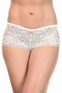 Diamy Blanc - Ensemble soutien-gorge / shorty, image n° 3