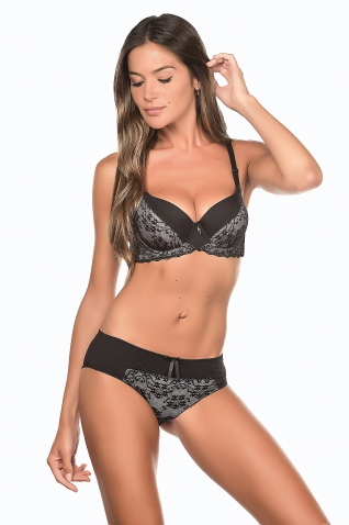 Fliray Rose - Ensemble soutien-gorge / shorty