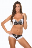 Galine Blanc - Ensemble soutien-gorge / shorty, image n° 1