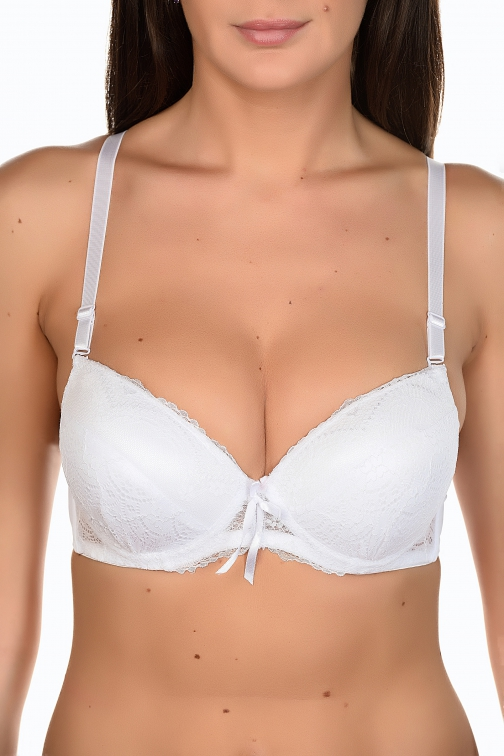 Grease Blanc - Ensemble soutien-gorge / string