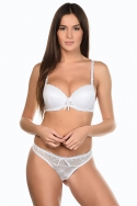 Grease Blanc - Ensemble soutien-gorge / string, image n° 1