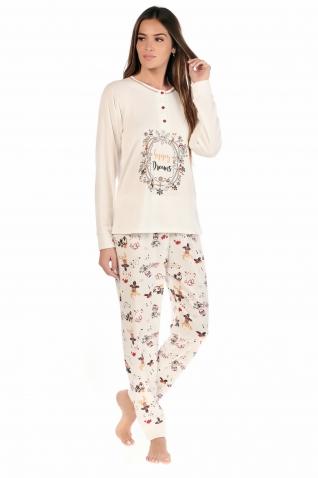 Happy Ecru - Ensembles pyjama