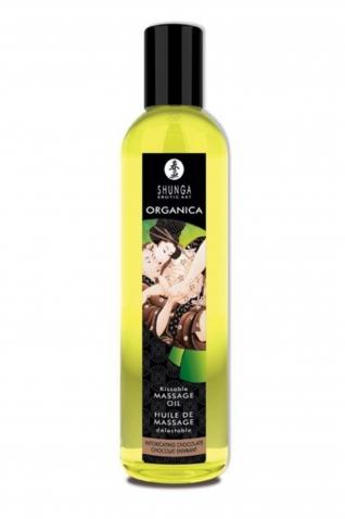 Huile massage bio chocolat 250ml - Massage & gels stimulants