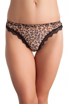 Ide Leopard beige - String