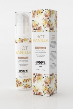 Massage hot gourmand vanil.50ml - Massage & gels stimulants