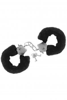 Menottes poignets noir - Sextoys