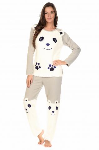 Panda Gris - Ensembles pyjama
