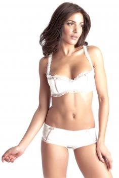 Reveuse Blanc - Soutien-gorge / Culotte