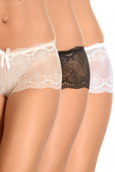 Sany Noir/blanc/nude - Shorty