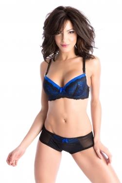 Velia Bleu - Soutien-gorge / Shorty
